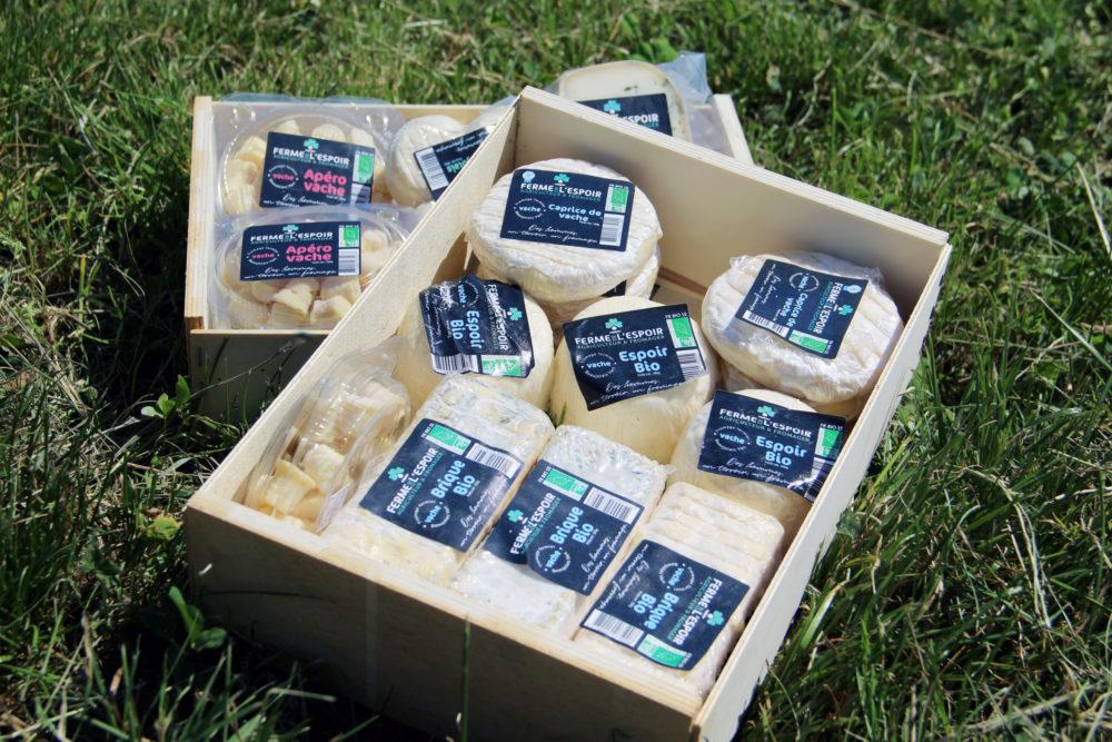 Les fromages de la Ferme de l'Espoir